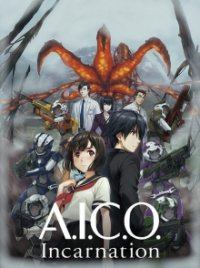 A.I.C.O. Incarnation Cover, Poster, Blu-ray,  Bild