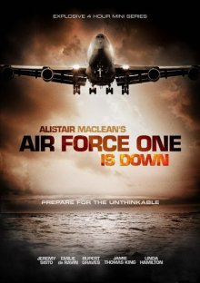 Air Force One is Down Cover, Online, Poster