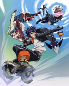 Cover Air Gear, Air Gear