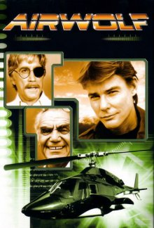 Cover Airwolf, Poster Airwolf