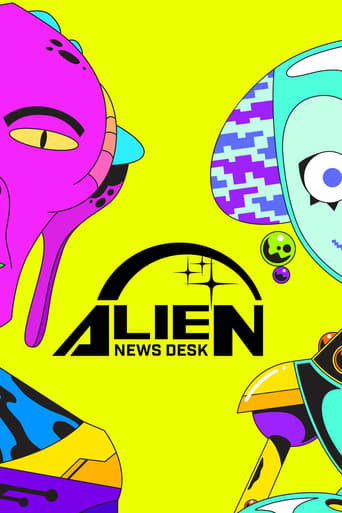 Alien News Desk, Cover, HD, Serien Stream, ganze Folge