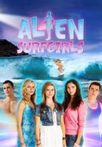 Cover Alien Surfgirls, Poster Alien Surfgirls