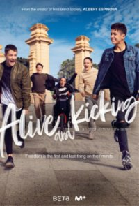 Cover Alive and Kicking, Poster