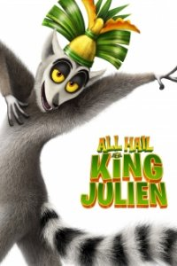 Cover All Hail King Julien: Exiled, Poster