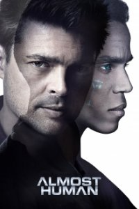 Almost Human Cover, Online, Poster