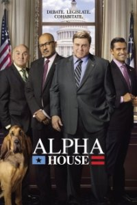 Alpha House Cover, Online, Poster
