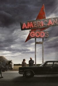 Poster, American Gods Serien Cover