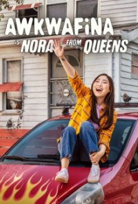 Poster, Awkwafina is Nora From Queens Serien Cover