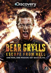 Cover Bear Grylls: Escape From Hell, Poster