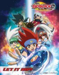 Poster, Beyblade: Metal Fusion Serien Cover