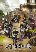 Cover Black Clover, Poster Blac