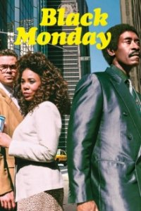 Poster, Black Monday Serien Cover