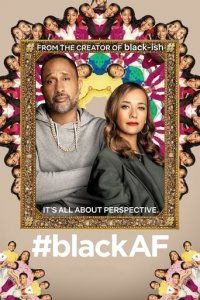 Poster, #blackAF Serien Cover