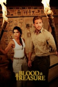 Cover Blood and Treasure, Poster Blood and Treasure