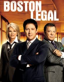 Cover Boston Legal, Poster