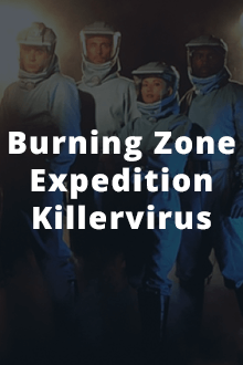 Burning Zone – Expedition Killervirus Cover, Online, Poster