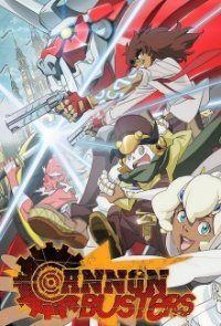 Poster, Cannon Busters Serien Cover
