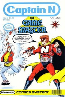 Captain N: The Game Master Cover, Online, Poster