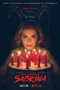 Poster, Chilling Adventures of Sabrina Serien Cover