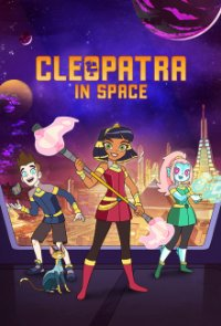Poster, Cleopatra in Space Serien Cover