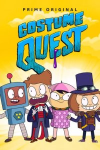 Poster, Costume Quest Serien Cover