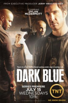 Cover Dark Blue, TV-Serie, Poster
