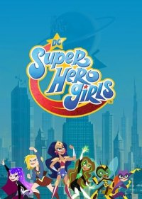 Poster, DC Super Hero Girls Serien Cover