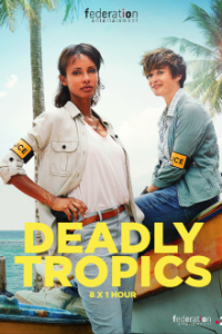 Poster, Deadly Tropics Serien Cover