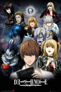 Cover Death Note, Poster Death Note