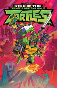 Poster, Der Aufstieg der Teenage Mutant Ninja Turtles Serien Cover