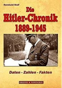 Cover Die Hitler-Chronik, Die Hitler-Chronik