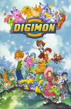Cover Digimon Adventure, Poster Digimon Adventure