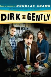 Dirk Gently Cover, Poster, Dirk Gently