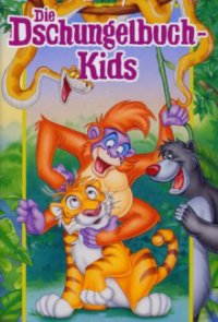 Poster, Disneys Dschungelbuch-Kids Serien Cover
