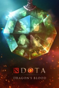 Poster, DOTA: Dragon's Blood Serien Cover