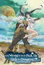 Cover Danmachi: Is It Wrong to Try to Pick Up Girls in a Dungeon, Poster Danmachi: Is It Wrong to Try to Pick Up Girls in a Dungeon