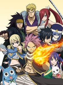 Fairy Tail, Cover, HD, Stream, alle Folgen