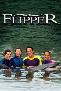 Poster, Flippers neue Abenteuer Serien Cover