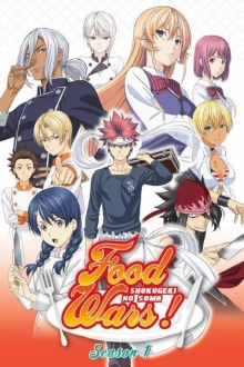 Food Wars: Shokugeki no Souma, Cover, HD, Serien Stream, ganze Folge