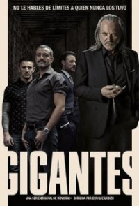 Poster, Gigantes Serien Cover