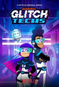 Poster, Glitch Techs Serien Cover