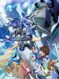 Cover Gundam Build Divers, Gundam Build Divers