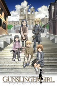 Poster, Gunslinger Girl Serien Cover