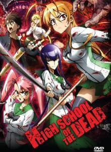Cover Highschool of the Dead, Highschool of the Dead