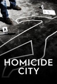 Poster, Homicide City Serien Cover