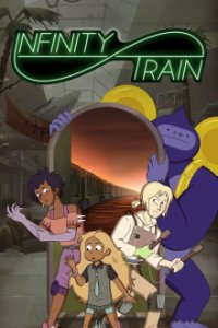 Poster, Infinity Train Serien Cover