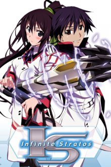 Cover IS: Infinite Stratos, Poster IS: Infinite Stratos