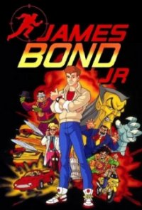 Cover James Bond Jr., Poster James Bond Jr.