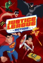 Cover Justice League Action, Poster Justice League Action