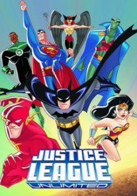 Cover der TV-Serie Justice League Unlimited